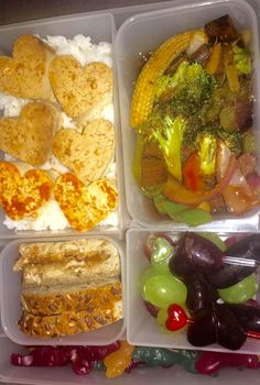 First bento lunch for my boyfriend in our new bentology lunch boxes!! And of course it's all vegan!