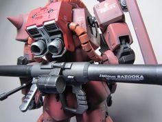 Bandai MG MS-06S Zaku 2 - rear