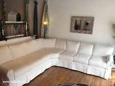 Image result for slip covered sectional sofa Lomakohteet 3afe85d89a