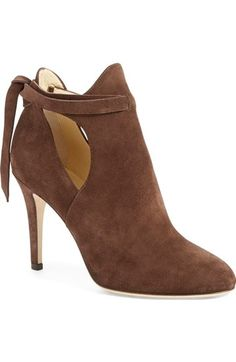 Jimmy Choo 'Marina' Tie Strap Bootie (Women) available at #Nordstrom