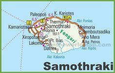 Samothraki road map
