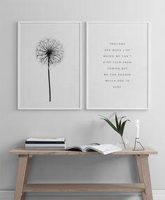 Dandelion, posters