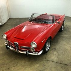 For sale! 1965 Alfa Romeo 2600 Spider! $54,500! Check out www.beverlyhillscarclub.com for more details and photos!