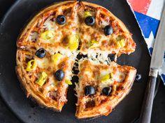 Ciao aus Belgien: Herzhafte Pizza Waffeln