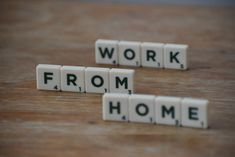 Get Started Working at Home. The working-at-home life seems like an impossible dream but if you make it with hard work, it's not unattainable at all. Work From Home Opportunities, Work From Home Tips, Scrabble Words, Work Relationships, How To Make Money, How To Get, Home Hacks, A Team, Study