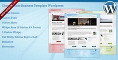 Chromonium Business Template Wordpress . This is Wordpress version of my Chromonium template with 3 variations color (Blue, Green and Red). You can use it for Portfolio, Business, or Designer Website. It build for Wordpress