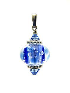 Omnipot Furnace -- ヴァレリー(3) アクアリウム Lampwork Beads, Christmas Bulbs, Holiday Decor, Christmas Light Bulbs