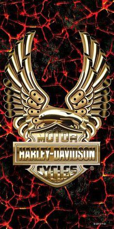 Harley-Davidson® Eagle Lava Beach Towel 12262