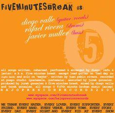 Five Minutes Break - This Is How We've always Been // Insert
