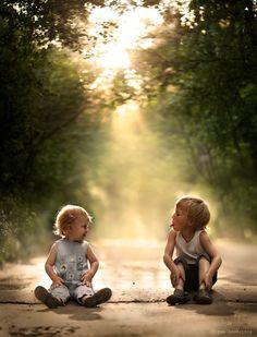 Cute kids - Elena Shumilova