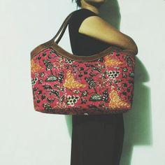 Ratih Pinkish Pekalongan Leather Hobo Bag     #djokdjabatik