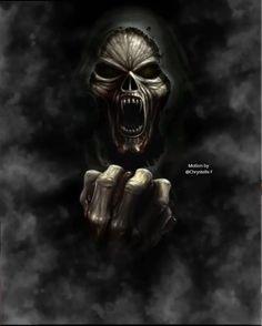 Pin by Alane Pundt on Grim Reaper in 2019 Grim Reaper Art, Don't Fear The Reaper, Dark Artwork, Skull Artwork, Lion Wallpaper, Skull Wallpaper, Rauch Tapete, Digital Foto, Badass Skulls
