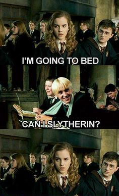 #TooFunnyForWords click on the pic for more! Harry Potter Hermione Malfoy meme funny