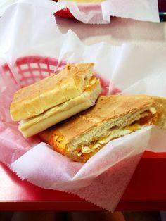 Puerto Rican breakfast sandwich - the best!