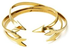 Open arrow bracelets