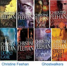 Christine Feehan's Ghostwalkers series.