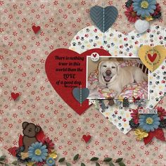 Love Is A 4-Legged Word from Created by Jill