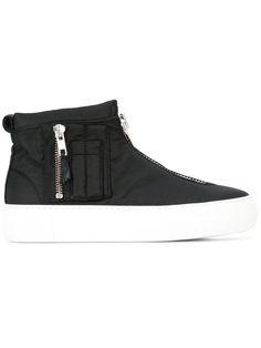 Black Bomber HighTop Sneakers Joshua SandersHigh