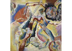 Wasilij Kandinskij, Quadro con macchia rossa, 1914 (copyright Centre Pompidou, Paris) mio articolo qui: http://www.artincontro.com/vasilij-kandinskij-palazzo-reale-di-milano/