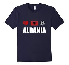 Check this Albania Football Shirt – Albania Soccer Jersey . Hight quality products with perfect design is available in a spectrum of colors and sizes, and many different types of shirts! Albania Football, Soccer Pro, Soccer Gear, Soccer Games, Panda Shirt, Funny Emoji, Football Shirts, Shirts For Girls, Venezuela