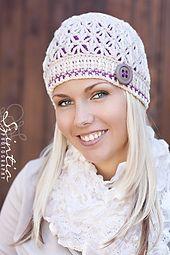 Ravelry: Kierra Hat Crochet Pattern 2in1 pattern by Viktoria Gogolak