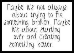 Something broken