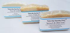 Naturally Non Toxic Lavishly Signature Soaps 3 pack