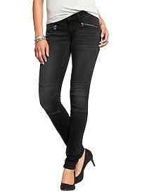 Women's The Rockstar Zip-Pocket Super-Skinny Jeans