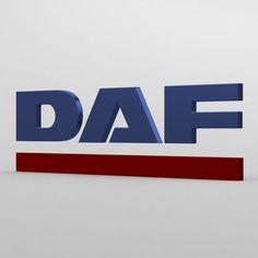 daf logo | 3D Model