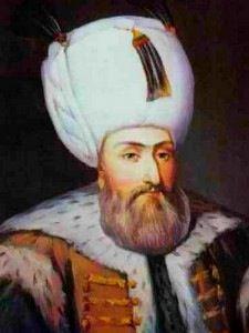 Sultan Suleiman the Magnificent of Turkey.(1520-1566 ).