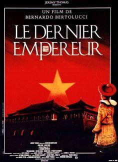 The Last Emperor [Poster, 2 of 44 high-resolution movie posters in this group. Films Étrangers, Movies, Oscar Films, Bernardo Bertolucci, Last Emperor, Oscar Winners, Martin Scorsese, Movie Posters, Auradon