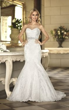 5865 Lace Wedding Gown by Stella York