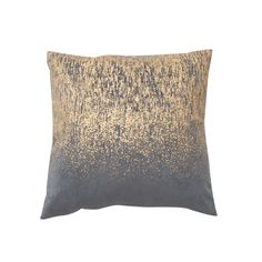 This super cute corduroy cushion with printed gold metallic detailing will be sure to add a touch of warmth to any space this season