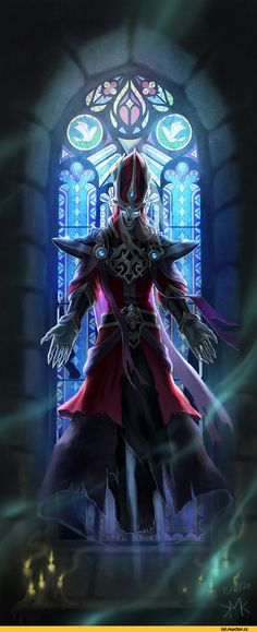 A animated image of a character of league of legends. It is interesting and well designed.