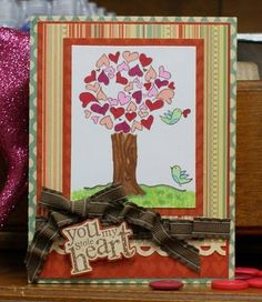 using {ippity} stamps by unity stamp company - straight from the heart
