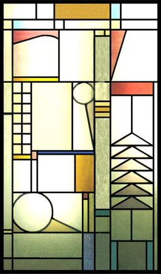 Gallery For > Frank Lloyd Wright Stained Glass
