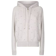 Juicy Couture Embellished Cashmere Hoodie (2.010 BRL) ❤ liked on Polyvore featuring tops, hoodies, hooded pullover, cashmere hooded sweatshirt, hooded sweatshirt, pink zip up hoodie and cashmere hoodies