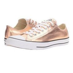 Shop Women's Converse size 8 Sneakers at a discounted price at Poshmark. Description: Converse Rose Chuck Taylor Rose Gold Metallic Preowned with rubbing and metallic and scuffs. Converse Chuck Taylor All Star, Converse All Star, Chuck Taylor Sneakers, Converse Shoes, Converse Trainers, White Converse, Converse Rose Gold, Sequin Converse, Converse Classic