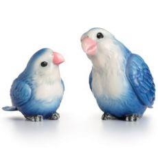 Franz Porcelain Lovebirds Porcelain Figurine Set