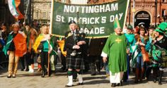 Nottingham St Patricks Day Parade