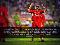 Steven Gerrard the captain and leader! #LFC