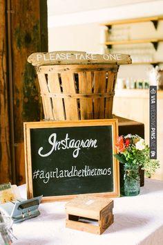 instagram at wedding | VIA #WEDDINGPINS.NET