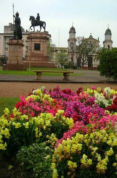 Plaza Artigas. Salto Uruguy
