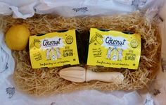 NEW REVIEW: There's a brand new dairy free dessert on the block and comes in the form of these fluorescent packaged The Coconut Collaborative Little Lemon Temptations