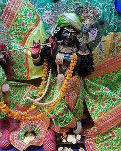 "HareKrishna on Instagram: ""#JaiShriKrishna🌸🌹🍁👏 #LordKrishna🌷🌹🌺♥️👏 #HareKrishna🌷🌹🌺♥️👏"" Deities, Worship, Wreaths, Halloween, Instagram, Decor, Decoration, Door Wreaths, Deco Mesh Wreaths"