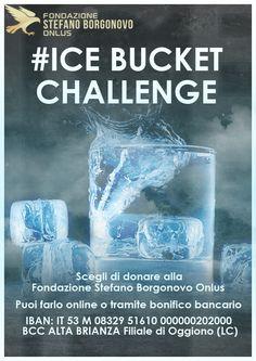 Ice bucket challenge - Fondazione Stefano Borgonovo