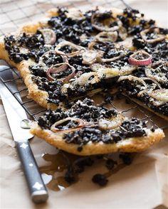 Olive and Parmesan Tart