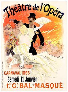 Grand Veglione de Gala, a l'Opera. Jules Cheret