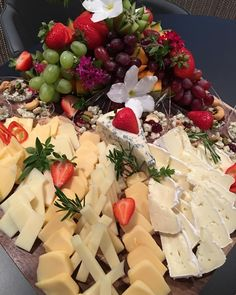 #cheese board #catering At Chef's Table