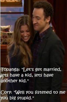 Corey  Topanga, Girl Meets World